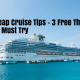 Cheap Cruise Tips